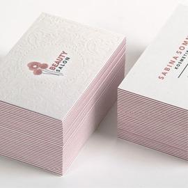 Letterpress Visitenkarten Online Gestalten Dxg Ch