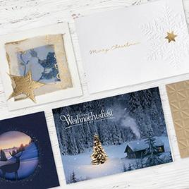 Bedruckte Weihnachtskarten Bestellen.Drucksachenexpress Ag Weihnachtskarten Papiere Visitenkarten Und